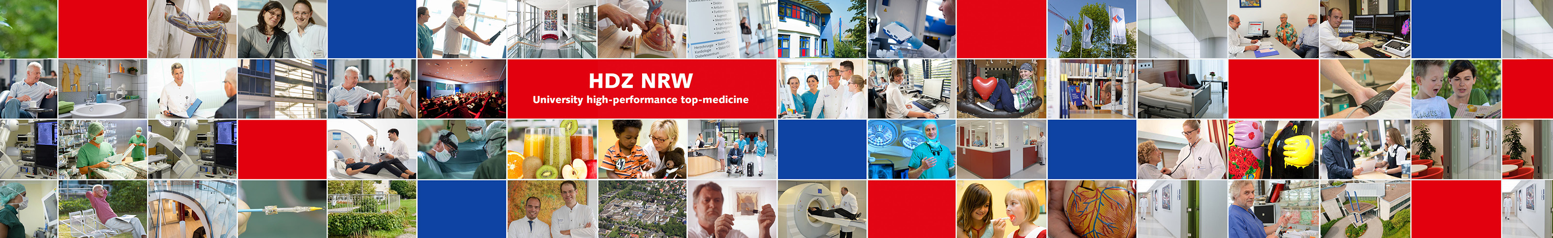 HDZ NRW – University high-performance top-medicine